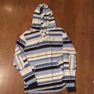 Southern Tide summer thin hoodie XL stripes